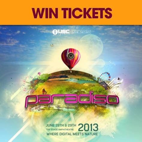 Paradiso2013 Win Tickets